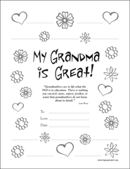 Download My Grandma is Great Certificate