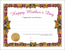 Download Happy Mother's Day Color Certificate