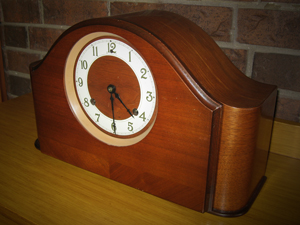 Susan Bosak's family mantle clock