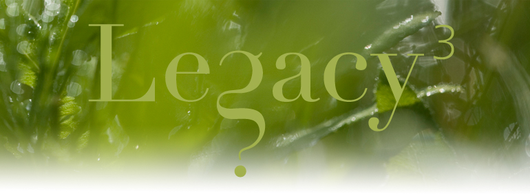 Welcome to the Legacy Project at www.legacyproject.org