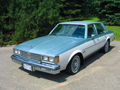 Ted's 1981 Oldsmobile